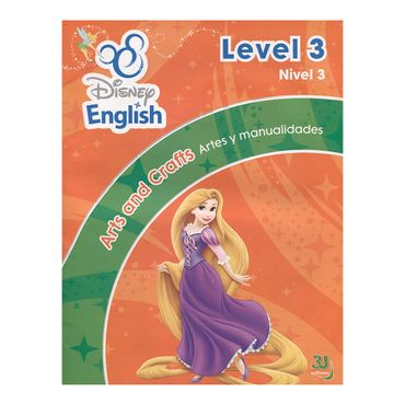 disney-english-nivel-3-artes-y-manualidades-dvd-stickers-9789588811321