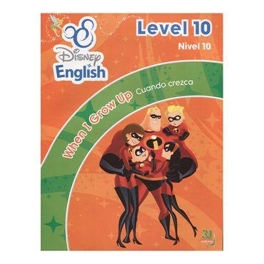 disney-english-nivel-10-cuando-crezca-dvd-9789588811390