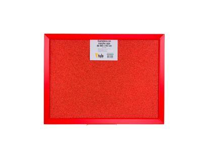 cartelera-de-corcho-rojo-con-marco-rojo-7701016742849