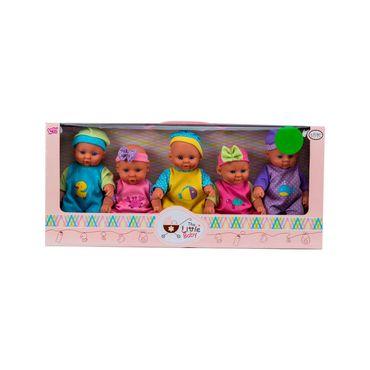 set-de-5-bebes-the-little-baby-6929750090809