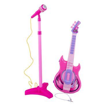 set-guitarra-y-microfono-rosa-7701016513449