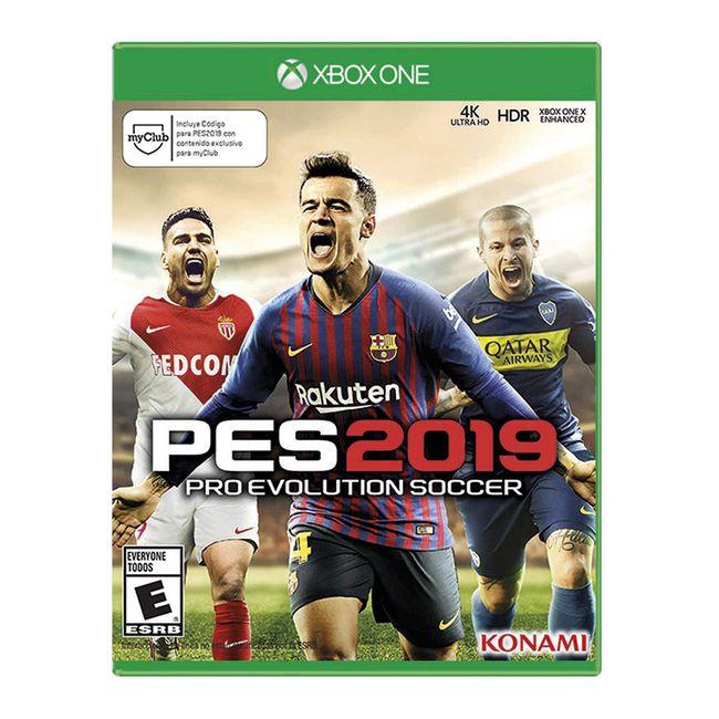 Juego Pes Pro Evolution Soccer 2019 Para Xbox One Panamericana