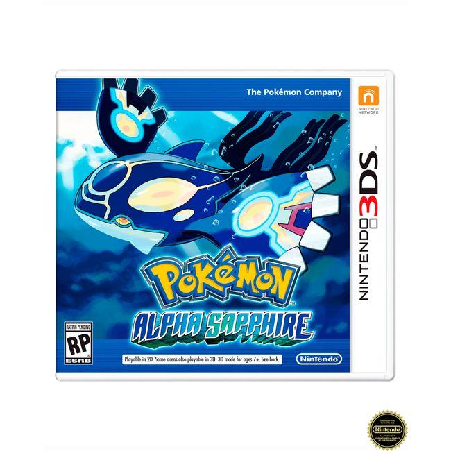 Juego Pokemon Alpha Sapphire Para Nintendo 3ds Panamericana
