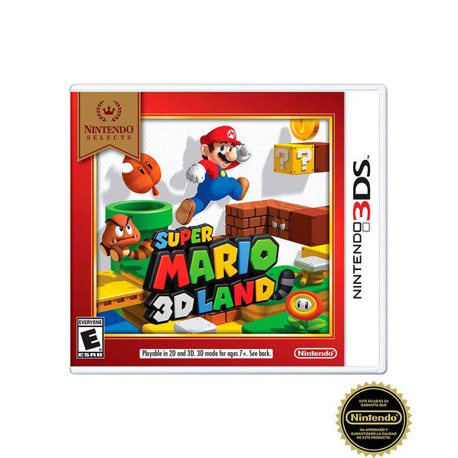 Juego Super Mario 3d Land Para Nintendo 3ds Panamericana