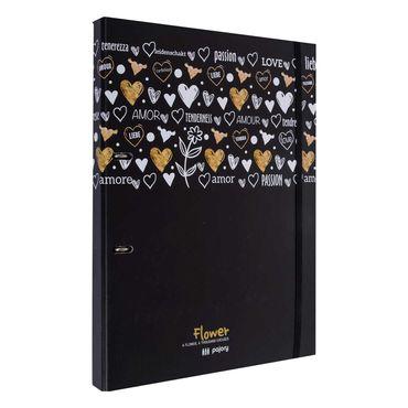 folder-escolar-a4-2-anillos-con-separadores-y-hojas-rayadas-diseno-flower-black-5601932247034