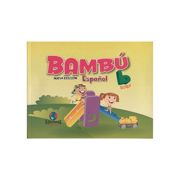 bambu-espanol-nueva-edicion-b-script-9789585666023