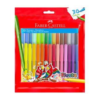 plumones-x-30-uds-faber-castell-fiesta-7754111013277