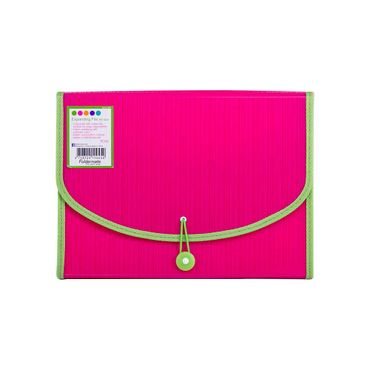 archivador-fuelle-a4-rosa-con-verde-7701016520881
