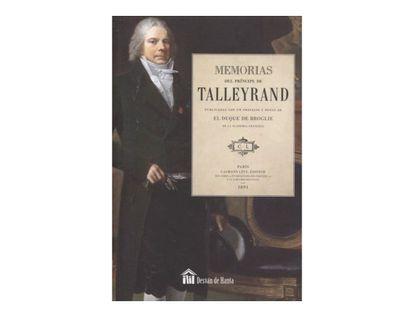 memorias-del-principe-de-talleyrand-9788494223235
