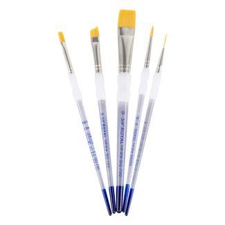 set-de-pinceles-royal-langnickel-soft-grip-x-5-unidades-90672028327