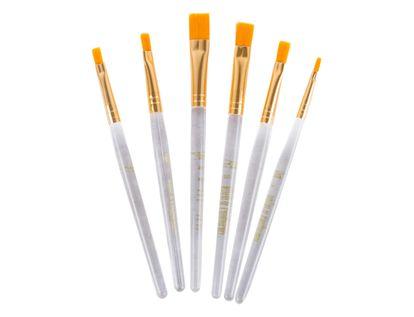 set-de-pinceles-taklon-oro-por-6-unidades-90672204103