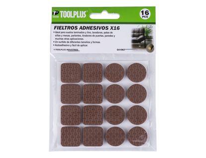 fieltro-adhesivo-cuadros-y-circulos-cafe-x-16-unidades-7701016419321