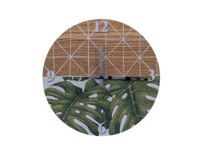 reloj-de-pared-28cm-circular-monstera-tropical-7701016442602