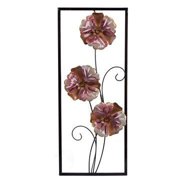 cuadro-decorativo-25-cm-x-60-cm-metalico-flores-rojo-rosado-y-naranja-7701016142199