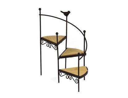 organizador-escalera-3-niveles-con-pajaro-cafe-3300150006813