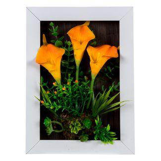 planta-artificial-con-marco-y-cartuchos-naranja-30-cm-3300150002723