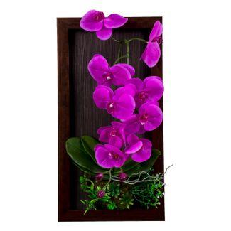 planta-artificial-con-marco-y-flores-violeta-50-cm-3300150002754