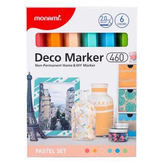 marcadores-deco-por-6-unidades-tonos-pasteles-8801067446310