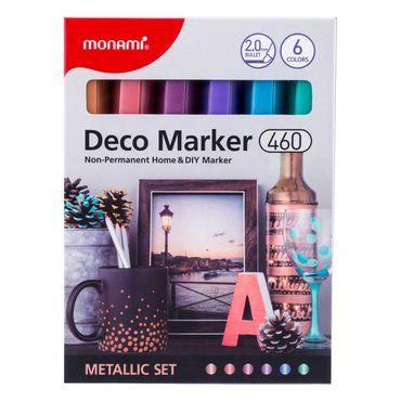 marcadores-deco-por-6-unidades-tonos-metalizados-8801067446341