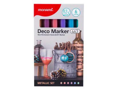 marcadores-deco-por-6-unidades-tonos-metalizados-8801067446402