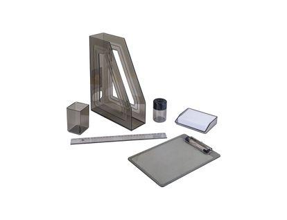 set-de-escritorio-color-humo-por-6-unidades-7896292297418