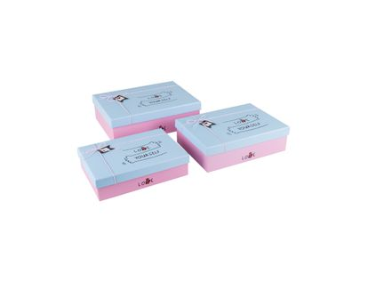 set-x-3-caja-de-regalo-rosada-con-tapa-azul-yourself-7701016580151