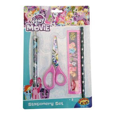 set-escritura-4-piezas-my-little-pony-7515400089119