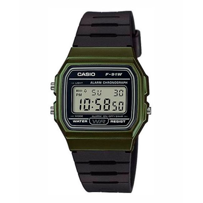 56df673ea62c Reloj digital Casio F-91WM-3ADF para hombre