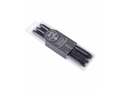 juego-de-plumones-negros-con-puntas-pincel-718813435536