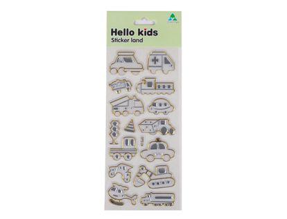 stickers-hello-kids-transparente-con-dorado-y-plata-3300170012160