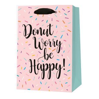bolsa-de-regalo-diseno-donut-worry-be-happy-8056304485984