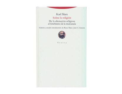 sobre-la-religion-de-la-alineacion-religiosa-al-fetichismo-de-la-mercancia-9788498797695