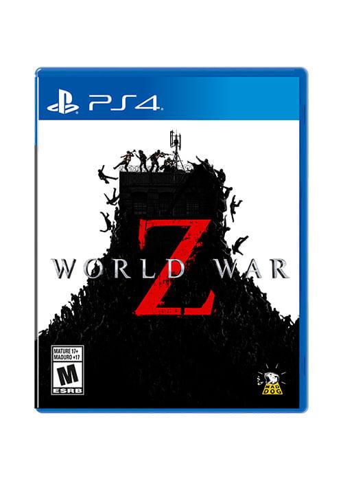 Juego world war z para ps4