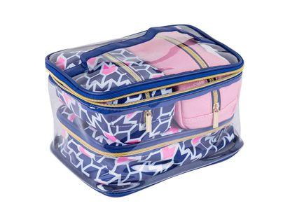 set-cosmetiquera-4-piezas-flechas-azul-y-rosado-7701016509947