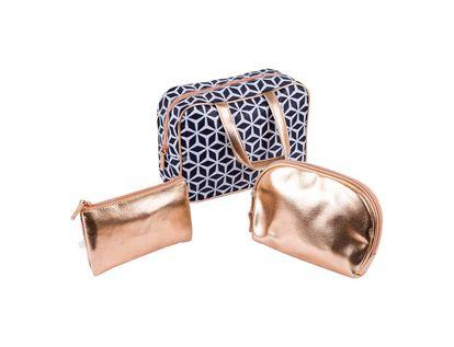 set-cosmetiquera-3-piezas-rombos-negro-y-oro-rosa-7701016510172