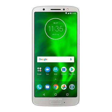 463d3022708 Celular libre Moto G6 dual SIM, plateado