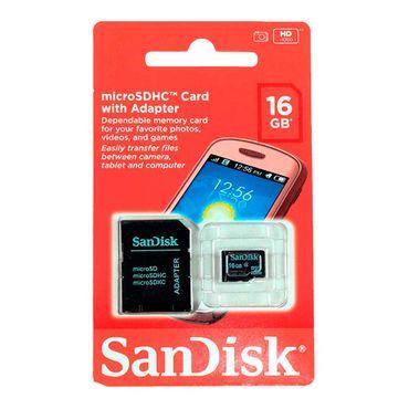 memoria-micro-sd-de-16-gb-adaptador-sd-sandisk-619659066888