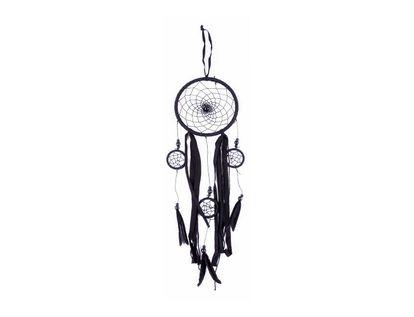 atrapasuenos-negro-con-aros-y-plumas-80-cm-7701016463195