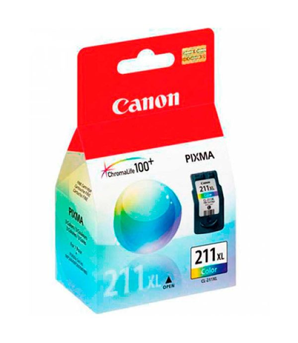 Cartucho Canon CL-211 XL Color