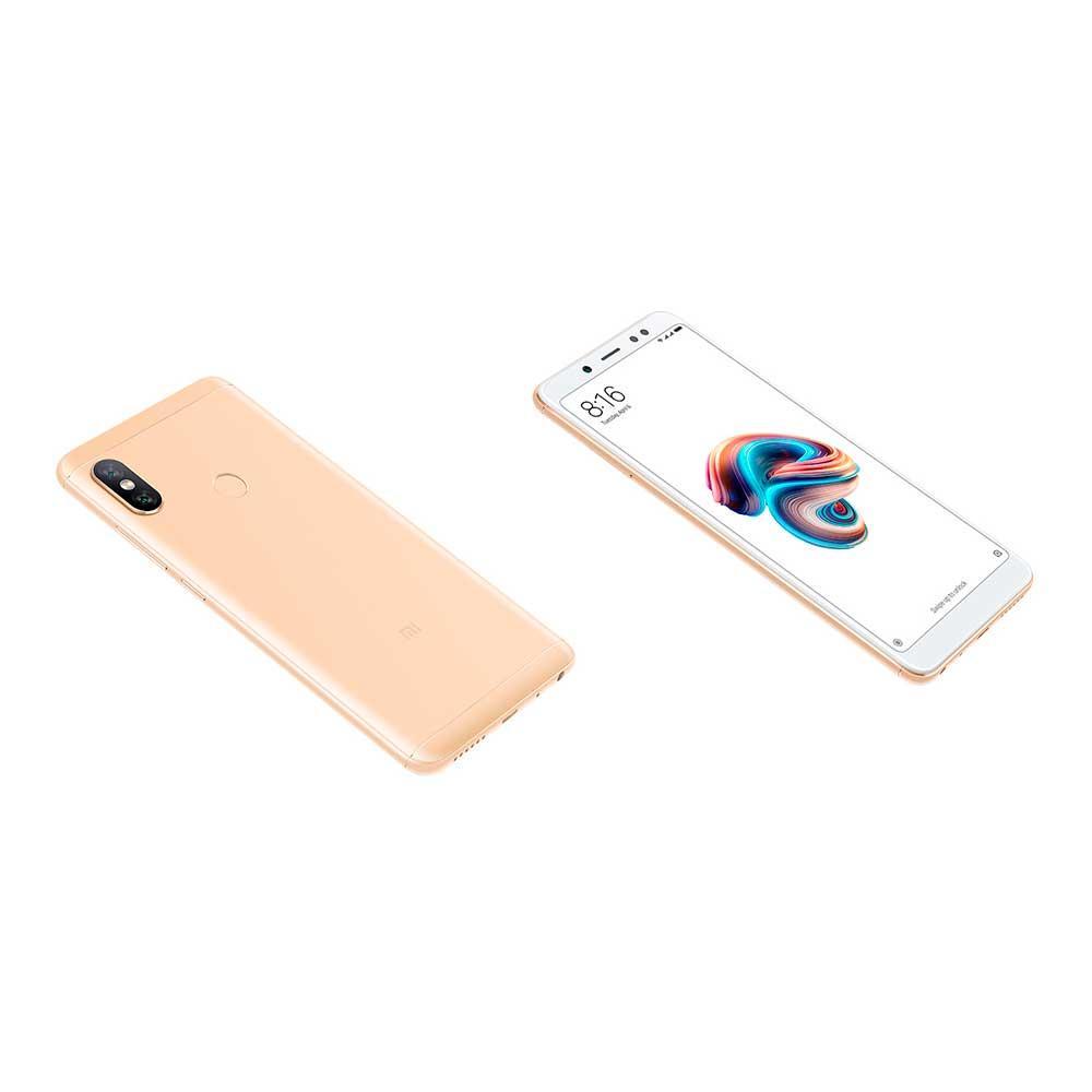 Celular libre xiaomi redmi note 5, dorado