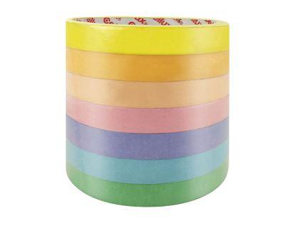 cinta-enmascarar-12-mm-x-10-mtr-cool-art-7-colores-7701633038288