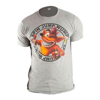 camiseta-gris-estampado-crash-talla-s-190371950889