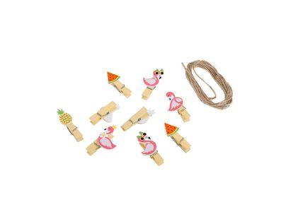 clips-de-madera-diseno-flamencos-y-frutas-por-10-unidades-6943569504395