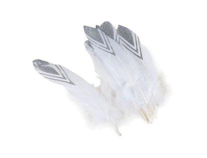 pluma-de-ganzo-blanco-con-puntas-plateadas-x-12-und-7701016414975