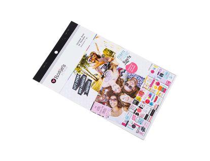 block-sticker-adhesivo-alfanumerico-summer-fun-rosie-s-5-hojas-9420013273764