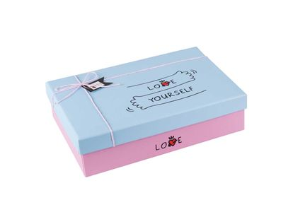 caja-de-regalo-7-7-cm-x-26-3-cm-x-18-9-cm-rosada-tapa-azul-love-yourself-7701016709705