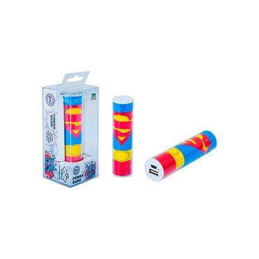 bateria-portatil-tribe-de-2600-mah-superman-8055742128705