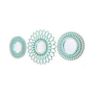 set-por-3-espejos-verde-menta-y-dorado-km3117-7701016568333