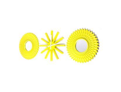 reloj-de-pared-2-espejos-amarillo-km3181-7701016568371