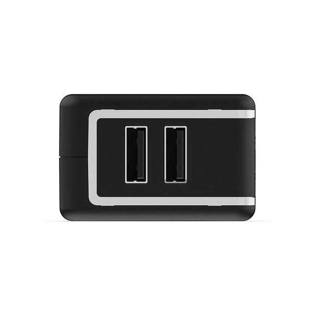 7c5b79da538 Cargador USB dual Mophie, negro - Panamericana